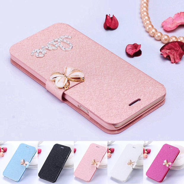PU Leather 22 Colors Case For Samsung Galaxy J5 J5000 J5008 Phone Cases Cover BiNFUL