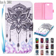 Painting Flip Case For Huawei Y5ii / Y5 Ii 2 CUN L21 L01 U29 Wallet Stand Phone Case For Huawei Y 5 II 2 CUN-L21 CUN-L01 CUN-U29