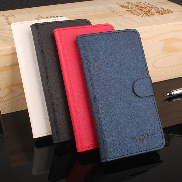 Phone Cases Cover For BQ Aquaris E5 Leather Luxury Wallet Flip Card Slots Holder Stand Case Cover For BQ Aquaris A4.5 Case
