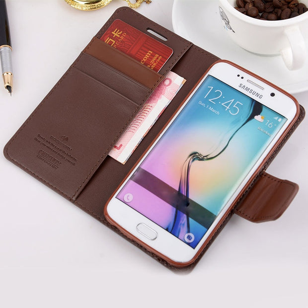 Phone Cases For Samsung Note 9 Case Wallet Shockproof Flip Leather Cover For Samsung Galaxy S7 Edge S8 S9 Plus Note 8 Card Slots