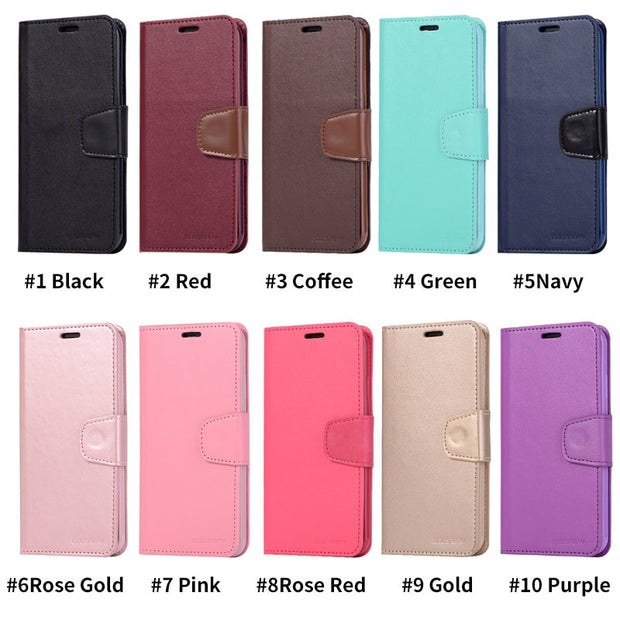 Phone Cases For IPhone XS Max Case Wallet Shockproof Leather Flip Cover For IPhone X XS XR 6 6s 7 8 Plus Case Card Holder Coque