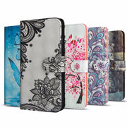 Phone Flip Etui Coque Cover Case For Xiaomi Mi A1 A2 Lite 8 SE EXplorer Poco Pocophone F1 MAX 2 With TPU 3D Painted PU Wallet