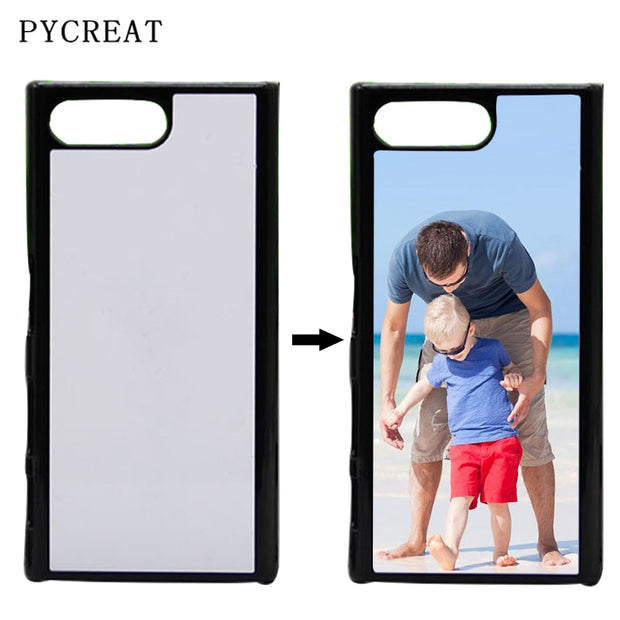Plastic Heat Transfer 2D Sublimation Case For Sony Xperia X Performance XA1 Ultra X Compact XZ Premium Cover With Aluminum Sheet