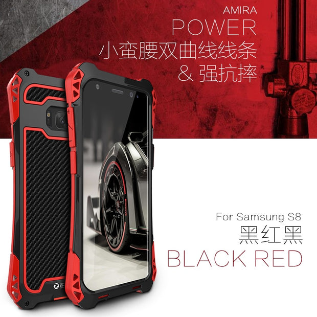 S8 black red