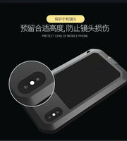Powerful Lover Mei Brand Case For Apple IPhone XR XS Aluminum Metal Shockproof Life Waterproof Dust Proof Case For IPhone XS Max