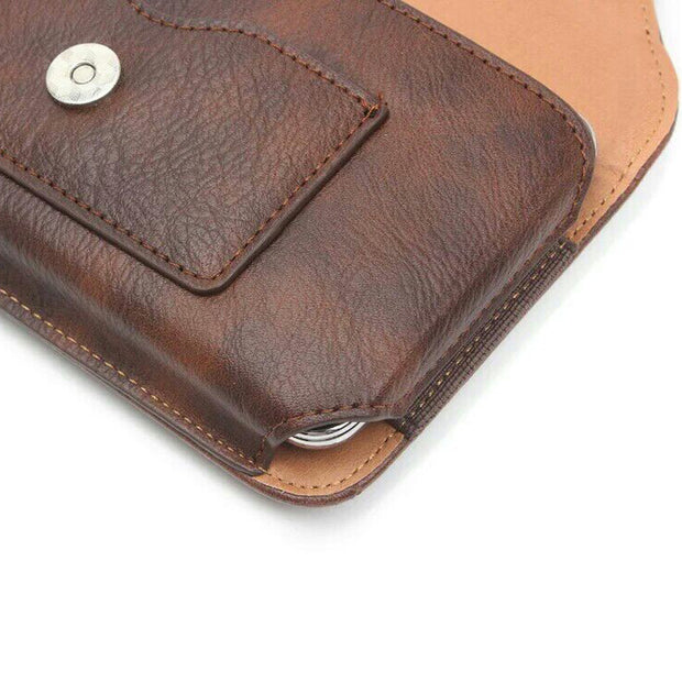 Rhino Skin Men Wallet Pocket For Xiaomi Huawei Samsung 4.7 / 5.1 / 5.5 / 6.1 Inches Anti-fouling, Anti-shock And Dustproof