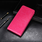 SHIODOKI For Ulefone S7 Pro Case Cover Luxury Leather Flip Back Cover Phone Case For Ulefone S7 Case Capa Fundas