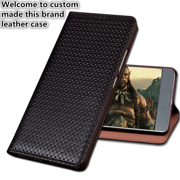 SS01 Genuine Leather Phone Bag With Kickstand For Sony Xperia XZ2(5.7') Phone Case For Sony Xperia XZ2 Flip Case