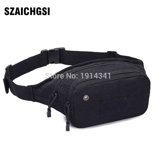 SZAICHGSI Outdoor Tactical Holster Military Hip Waist Belt Bag Wallet Pouch Purse Phone Case With Zipper For IPhone 7 6 5 20pcs