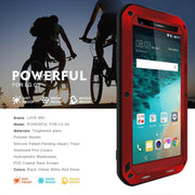 Shockproof Red For LG G5 All Cover Design Phone Case Outdoor Phone Shell