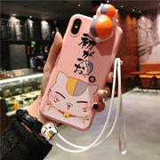 Sounding Doll Silicone Case For Iphone 8 7 6 6s Cute Cartoon Cover Phone Case For IPhone X XR XS 6Splus Max Funda Para