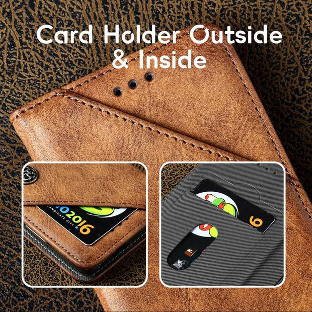 TAOYUNXI For Sony Xperia L1 Case Flip Leather Wallet For Sony L1 Cover Vintage Holster Hood G3311 G3312 G3313 E6 Cases 5.5 Inch