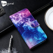 TAOYUNXI PU Leather Case For Xiaomi Pocophone F1 Case Flip Wallet Painted Cases For Xiaomi Poco F1 Cover Coque Flower Animal Bag