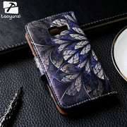 TAOYUNXI Painted Leather Case For Samsung Galaxy Star Plus Pro S7262 S7260 GT-S7262 I679 S8 Plus SM-G955 Case Cover Card Holder