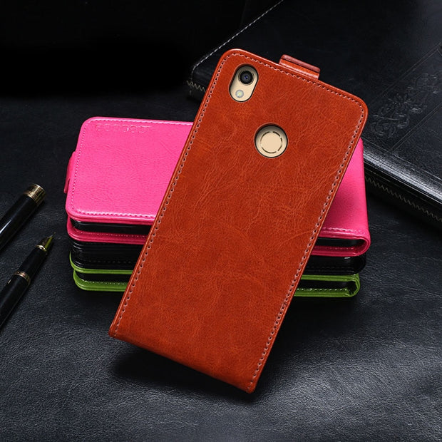 Tp-link Neffos C7 Case Luxury Cover Flip Leather Case For Tp-link Neffos C7 Phone Case Back Cover 5.5 ""
