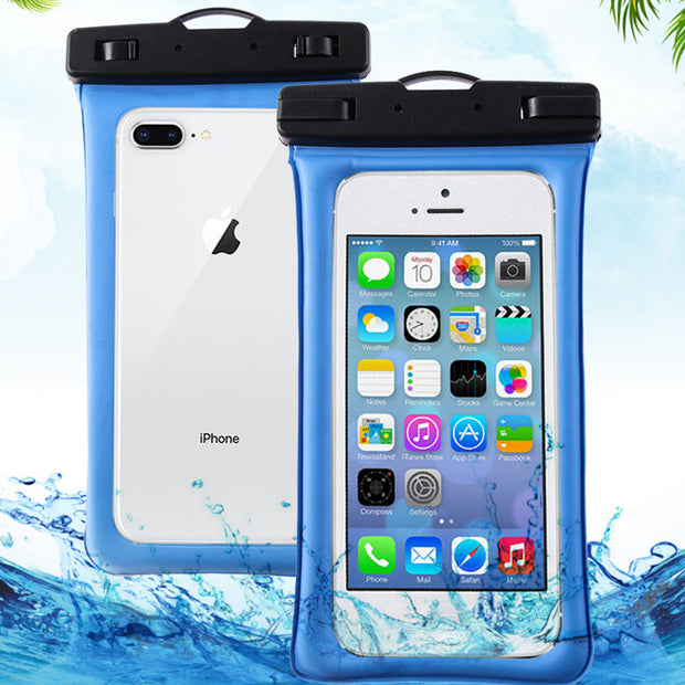 Universal Cell Phone Waterproof Case Mobile Phone Pouch Dry Diving Bag Protective Pouch For IPhone X XS XR6 7 8 Puls Pools Beach
