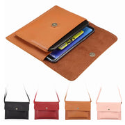 Universal Phone Bag For IPhone X 8 7 Wallet Pouch Shoulder Bag Case For Samsung Note 8 Xiaomi Mi 8 Redmi Note 5 Pro Huawei Etc
