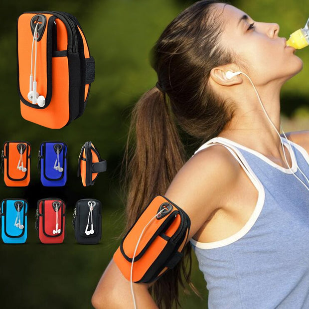 Universal Sports Phone Case Women Running Arm Band Phone Bag For IPhone 6/6s/7 Mobile Phone Arm Bag For Iphone 6/6s/7/8 Plus