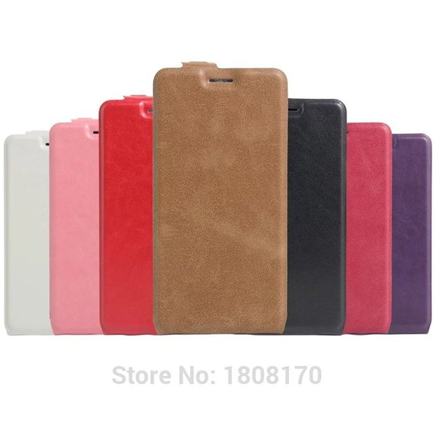 Vertical Colorful PU Flip Leather Case For OnePlus 3 Samsung Galaxy J3 Emerge Prime 2017 J2 2016 Card Pouch Soft Cover 50pcs