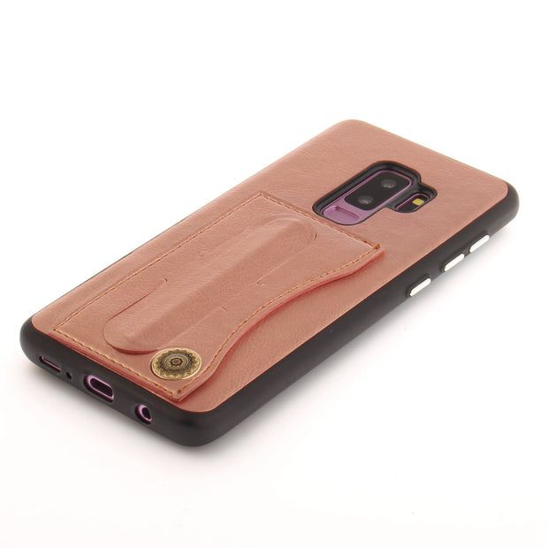 With Holder For Card Storage For Samsung Galaxy S9 Plus Phone Case Leather PU Phone Cover Case Shell For Samsung S9 Plus Copue