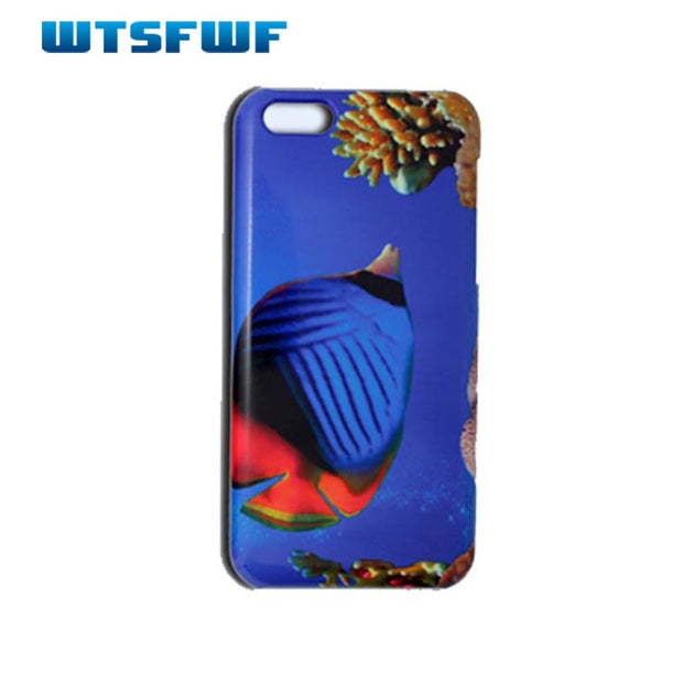 Wtsfwf New Arrival 3D Sublimation Case 3d Blank Cover For Iphone 4 4S 5 5S SE 5C 3d White Case