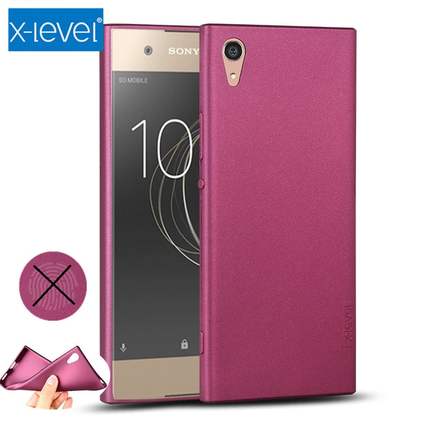 X-Level Guardian Soft Matte TPU Case For Sony Xperia XA1 XA2 XA XA3 Ultra Cover For Sony Xperia XZ1 XZ2 XZ3 Z3 XZ Silicone Case