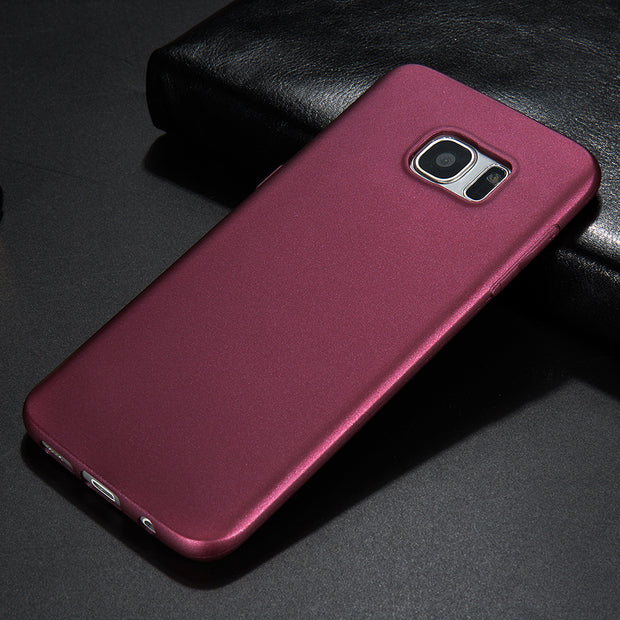 X-Level Soft Matte TPU Phone Case S10e A8S Scrub Back Cover For Samsung Galaxy S8 S9 S10 Plus S6 S7 Edge Note 9 8 Silicon Case