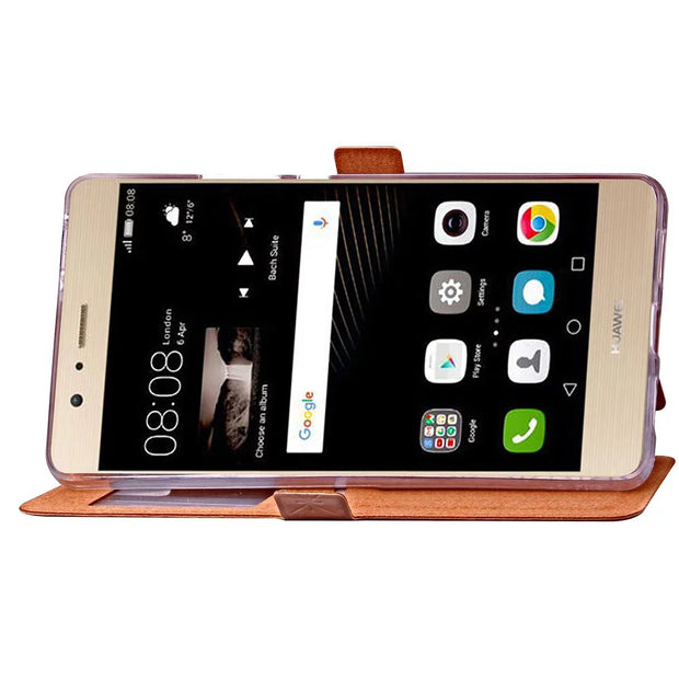 XINGDUO Luxury View Window Magnetic Flip Cover Stand Wallet Leather Case For Huawei P9Lite And For LG G5