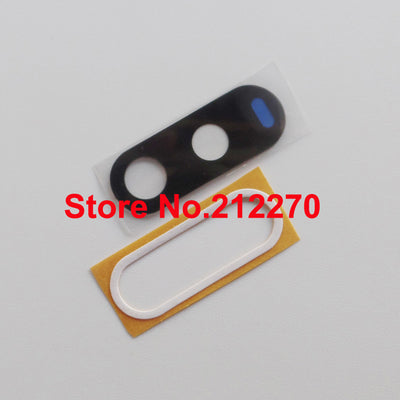 YUYOND 100set/lot New Back Camera Glass Lens Cover With Adhesive Sticker For Motorola G4 Real Glass Wholesale