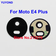 YUYOND Original New For Motorola Moto E4 Plus Rear Camera Glass Lens Cover With Adhesive Sticker Replacement Wholesale