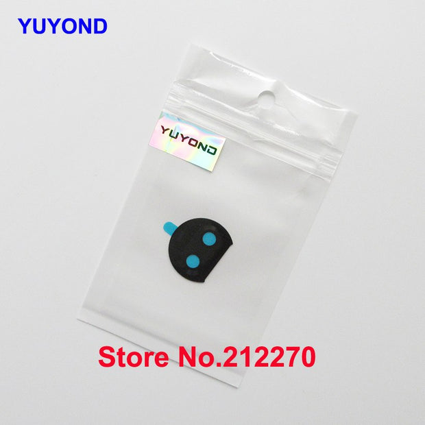 YUYOND Original New For Motorola Moto G5S Plus Rear Camera Glass Lens Cover With Adhesive Sticker Replacement
