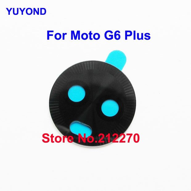 YUYOND Original New Rear Camera Glass Lens Cover With Adhesive Sticker Replacement For Motorola Moto G6 Plus Wholesale