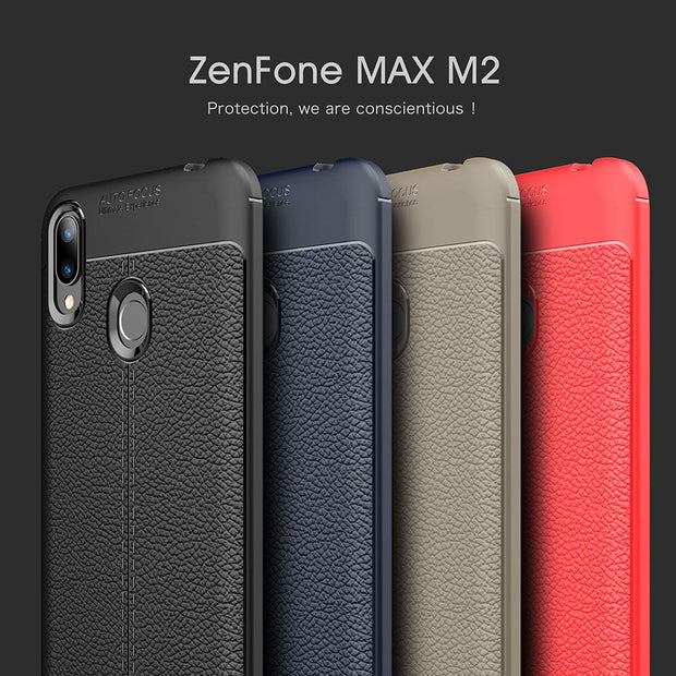 ZGAR Case For ASUS Zenfone Max M2 ZB633KL Luxury Soft Celular ZGAR Covers Phone Bags Cases For ASUS Zenfone Max M2 ZB633KL Coque