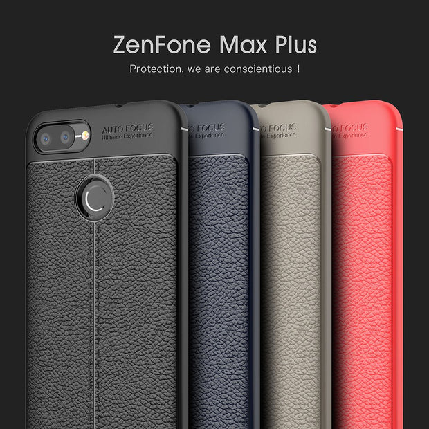 ZGAR Case For Asus Zenfone Max Plus M1 ZB570TL Soft Fitted Slim Covers Celular Zenfone Max Plus M1 ZB570TL Phone Bags Cases 5.7