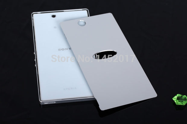 ZU Z Ultra L4 Luxury Aluminum Metal Case Phone Housing For Sony Xperia Z Ultra ZU L4 C6802 C6833 Aluminum Metal Back Cover