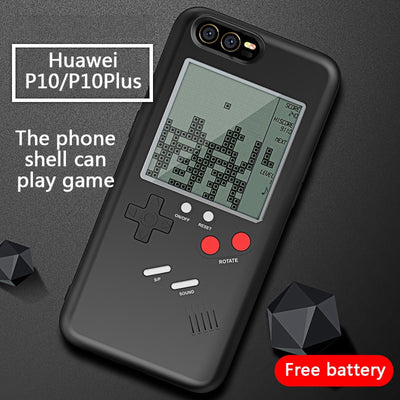 ZUCZUG Game Case For Huawei P10 P10Plus Retro Nintendo Tetris Gameboy Soft TPU Phone Case For Huawei P10/P10Plus Cover Best Gift