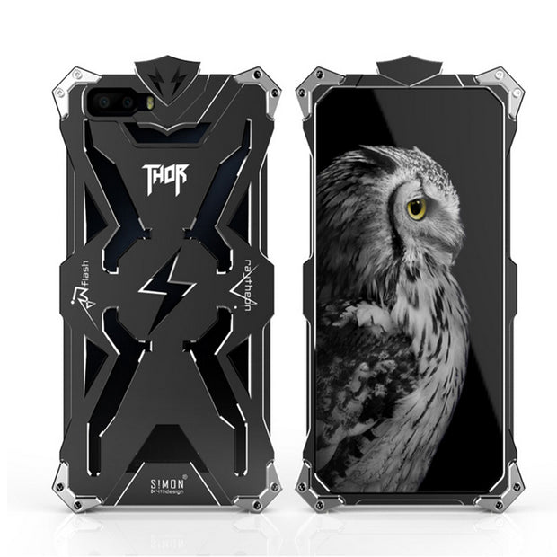 Zimon Design Doom On For Huawei Honor 6X Case Shockproof Aviation Aluminum Heavy Duty For Huawei Honor 6X 6 Plus Case Cover