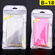 Zipper Plastic Retail Packaging For Iphone 6s/6s Plus Samsung S7/S6 Electronic Accessories 2000pcs/lot Free DHL