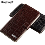 Flip Phone Case For IPhone 7 Crocodile Flat Texture Case All Handmade Phone Case For IPhone Series 5-5.5 Inch For Iphone 7 Case