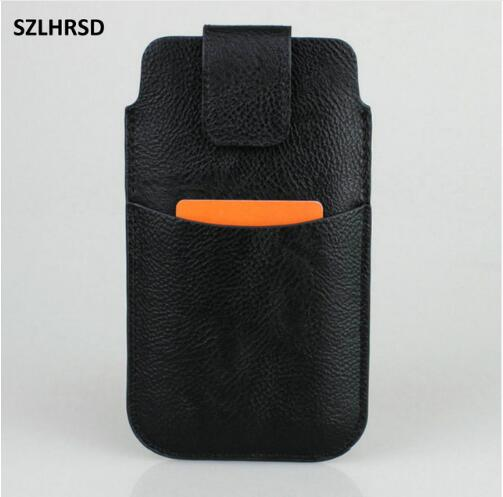 For Prestigio Muze D5 LTE Case With Wallet Card Slot Pocket Cover For Nokia X6 2018 Leather Case Sport Waist Pouch Bag