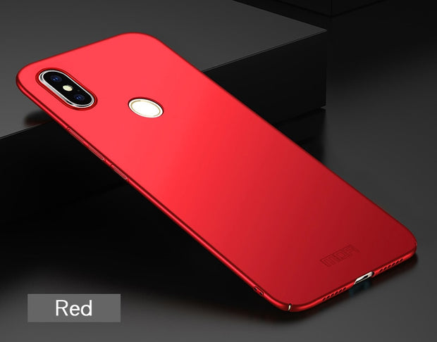 Redmi S2 Case Cover MOFI For Xiaomi Redmi S2 Global Hard PC Back Cover Case For Xiaomi Redmi S 2 Full Cover Frosted Case 5.99''