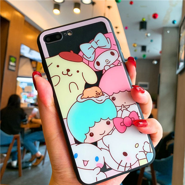 Transparent Cute Cartoon Cat Pig Dog Soft Shell TPU For IPhone Xs Max Xr 8 7 Plus 6 6s Plus
