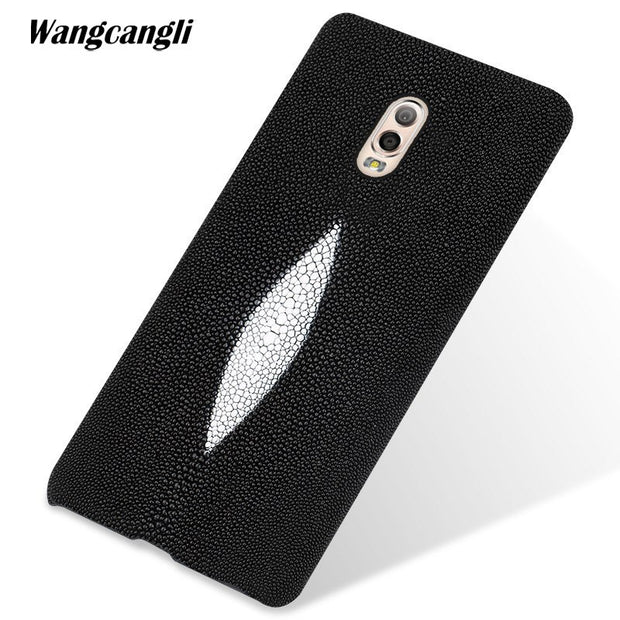 Wangcangli Custom Pearl Leather Phone Case For Samsung C8 Case Pearl Half-pack Mobile Phone Case Mobile Phone Case For Samsungs9