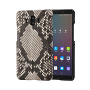 Wangcangli For Huawei Mate 10 Pro Luxury Handmade Real Python Skin Leather Phone Case Genuine Leather Phone Case