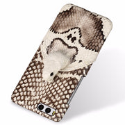 Wangcangli Brand Phone Case Real Snake Head Back Cover Phone Shell For Xiaomi Mi 6 Full Manual Custom Processing