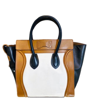 Celine Tri Coloured Lugguge Bag