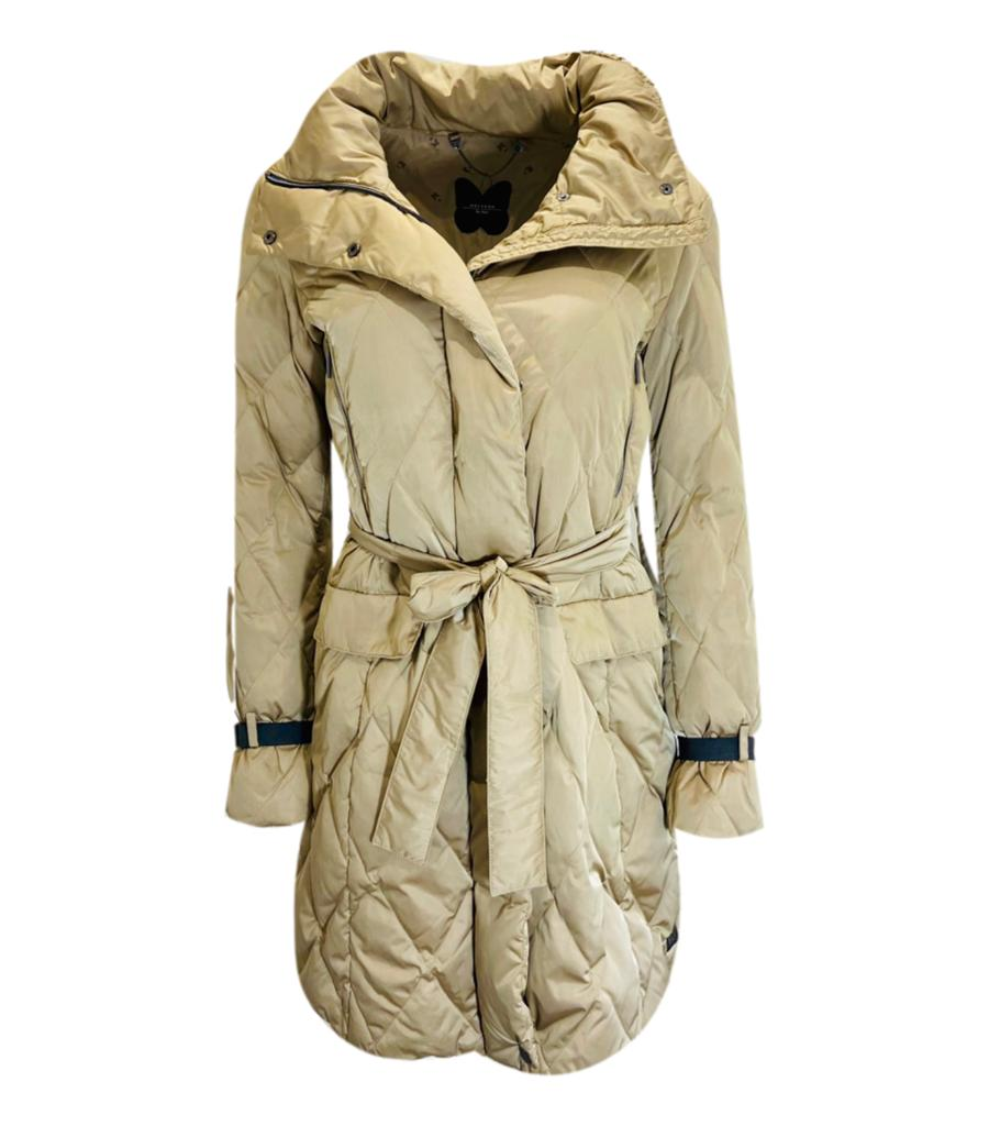 Weekend Max Mara Quilted Coat. Size 10UK