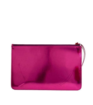 Jimmy Choo - Choo Hound Leather Clutch Bag