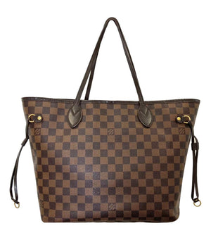 Louis Vuitton MM Daimer Ebene Neverfull Tote Bag