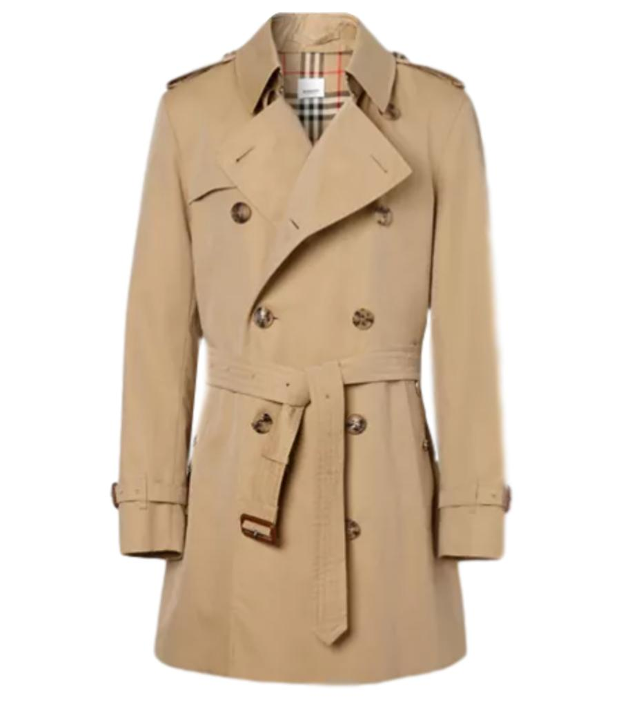 Burberry Brit Short Trench Coat. Size XXL